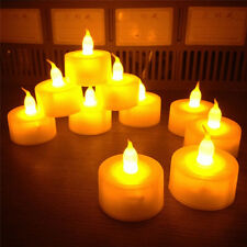 6pcs Flameless LED Flickering Tea Light Candles Wedding Christmas Decor Battery