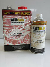 UNIVERSAL URETHANE AUTOMOTIVE CLEAR COAT AC-9016 AUTO RESTORATION PAINT KIT