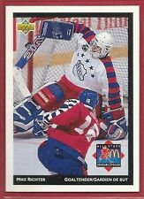 1992-93 Upper Deck McDonald's NHL All-Stars - #25 - Mike Richter - Rangers