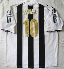 NEWCASTLE UNITED ENGLAND 2005/2006/2007 HOME FOOTBALL SHIRT ADIDAS OWEN #10