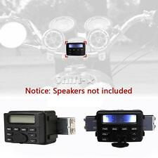 Waterproof Handlebar Mount MP3 Audio Radio For Street Bike Cruiser ATV Golf Cart