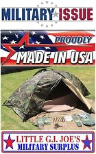NEW Eureka TCOP Individual Navy & Marine USMC Combat Tent Military issue tent