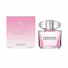 Versace Bright Crystal Women 6.7 6.8 oz 200 ml Eau De Toilette Spray Box Sealed
