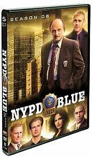 NYPD BLUE Complete Eighth SEASON 8 Eight DVD Set Series TV Show Dennis Franz Box