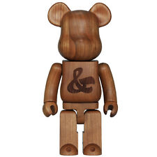 NEW Medicom toys House Industries Karimoku 400% Wood bearbrick wooden bear brick