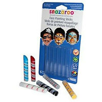 SNAZAROO Face Painting Sticks  - Boys