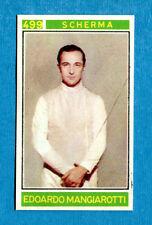 Figurina/Sticker CAMPIONI DELLO SPORT 1967/68-n. 499 - MANGIAROTTI - SCHERMA-rec