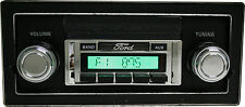1973 - 1986  Ford Truck Am/Fm Radio USA 230 Aux MP3 Custom Autosound