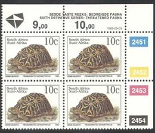South Africa (RSA) 1993 Tortoise/Animals/Nature/Wildlife/Tortoises c/b (za10084)