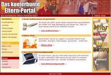 WEBSEITE ElternPortal + Auktionshaus + Forum + Chat + Homepage Generator + MRR