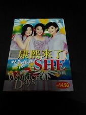 S.H.E. - WONDERFUL DAYS Malaysia VCD (USED)