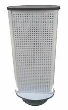 DOUBLE SIDED SPINNING PEG BOARD DISPLAY COUNTER RACK WITH PEGS pegboard new