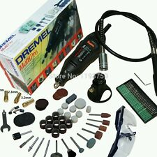 Electric Dremel Rotary Tool Mini Drill Variable Speed with Flexible Sha