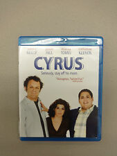 Cyrus (Blu-ray Disc 2010) John C. Reilly Jonah Hill, Used, Disc=NM, Case=Good