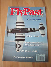 FLY PAST MAGAZINE JULY 1994 - DH HORNET AT 50, EE LIGHTNINGS  + MUCH MORE