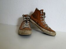 Converse All Star Chucks Sneaker Turnschuhe High Taylor Leder Hellbraun Gr. 4,5
