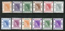 Hong Kong MNH Definitive 1954-1962. Queen Elizabeth QE II. x16707