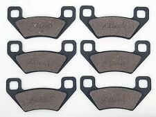 Front & Rear Break Pads For Arctic Cat 700 H1 MUD PRO TRV CRUISER 2009 2010