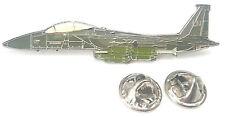 F-15E Aeroplane Side View Enamel Lapel Pin Badge