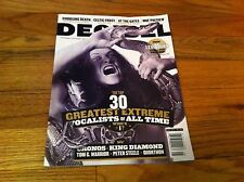 Decibel Magazine 127 Cronos AT THE GATES Krieg MARYLAND DEATHFEST Pentagram MORE