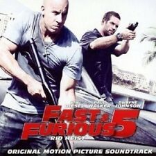 FAST AND FURIOUS 5-RIO HEIST  CD++++DON OMAR BRIAN TYLER 13 TRACKS+++++ NEW+