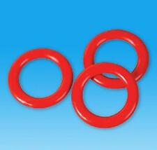18 PLASTIC RINGS Carnival Soda Bottle Toss Cane Rack Game #BB5 Free shipping