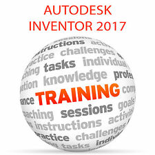 Autodesk Inventor 2017-Video Tutorial DVD de entrenamiento