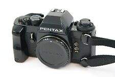 Pentax LX Late Model Film Camera w/ FA-1 Finder, Grip & Strap