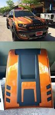 ORANGE HOOD SCOOP BONNET COVER WILDTRAK FORD RANGER MK2 PX2 XLT XL 2015 2016 17