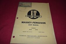 Massey Ferguson 85 88 Tractor I&T Shop Manual MISC1