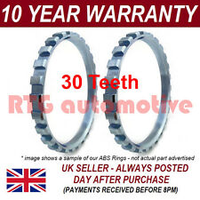 2X RENAULT LAGUNA 30 TOOTH 74.95MM ABS RELUCTOR RING DRIVESHAFT CV JOINT AR6801