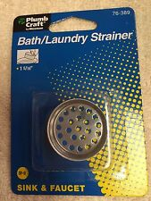 "Bath & Laundry Strainer, Sink & Faucet, 1-5/16"", Plumb Craft, Plumbing Strainer"