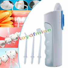 Oral Hygiene Irrigator Dental Flosser Water Floss Teeth Jet Pick Cleaning Kit