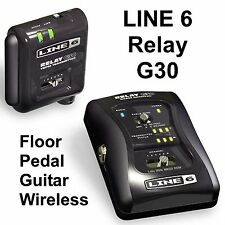 LINE 6 RELAY G30 Floor Pedal Guitar Digital Wireless System $10 Instant Off Band