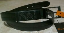 Ben Sherman Mens Black Reversible Leather Belt BNWT Medium