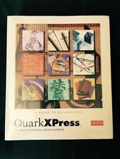 QuarkXPress For Mac OS Sealed Manuals x 4 Only