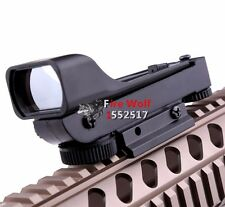 Tactical Reflex sight Red Dot Sight Scope Wide View for hunting airsoft