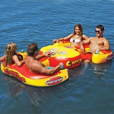 Sportsstuff Cantina 4 Person Pool Lake Lounge w/4 cup holder Inflatable  54-2025