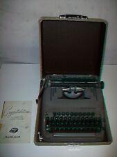 Vintage Smith Corona Silent-Super Portable Typewriter with case