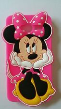 IT- PHONECASEONLINE SILICONE COVER PER CELLULARI T MINNIE PINK PARA ZTE BLADE L3