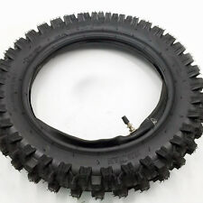 "80/100 - 12 3.00 - 12"" Rear Back Knobby Tyre Tire + Tube PIT PRO Trail Dirt Bike"