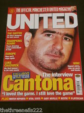 MANCHESTER UNITED - CANTONA - JULY 2001