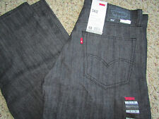NEW LEVIS 562 LOOSE TAPER JEANS MENS 30X32 BLACK #055620008 FREE SHIP