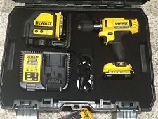 DeWalt Charger for Drill, Laser, Li-Ion Battery 10.8V, 14.4V,18Volt DCB115