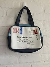 Vintage Paul Frank envelope air mail purse - travel purse - cosmetic bag