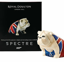 Royal Doulton Figurine Jack DD 007 Spectre Signed Bulldog End Skyfall James Bond