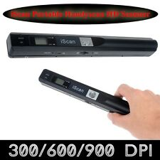 iSCAN Portable Wireless Digital 900DPI Scanner Document Book Photo A4 Handyscan