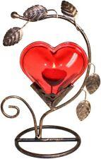 Herz als Kerzenständer 20 cm Teelichthalter Kerzenhalter Teelicht