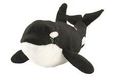 "NEW WILD REPUBLIC CUDDLEKINS 15"" ORCA KILLER WHALE PLUSH CUDDLY SOFT TOY TEDDY"