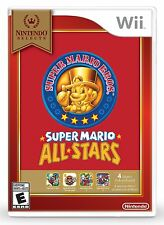 SUPER MARIO ALL-STARS * NINTENDO Wii * BRAND NEW FACTORY SEALED!